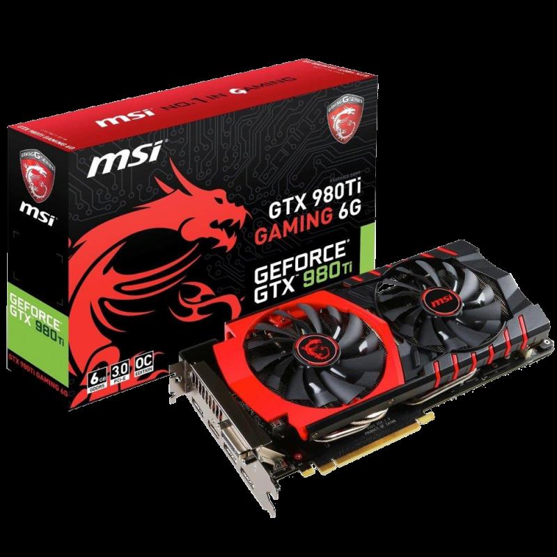 MSI GTX 980Ti GAMING 6G - NVIDIA GeForce PCI